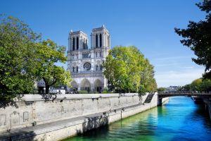 Notre-Dame de Paris, Notre-Dame de Paris Cathedral, Monuments, Paris, Ile de France