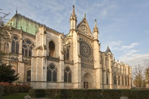Les monuments, basilique, saint denis, paris, france, europe, roi de france