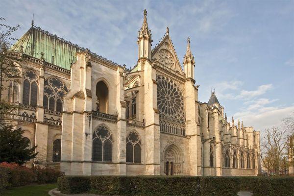 Les monuments, basilique, saint denis, paris, france, europe, roi de france