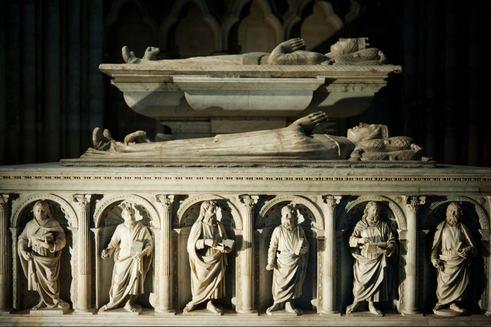 Tomba della cattedrale di Saint-Denis, Basilica di Saint-Denis, I monumenti, La Plaine-Saint-Denis, Parigi e Ile de France