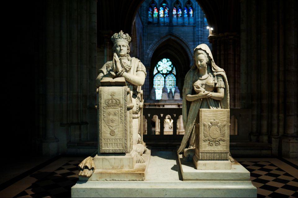 Esculturas en la Basílica de Saint-Denis, Hotel de los Inválidos, Los monumentos, La Plaine-Saint-Denis, París-Isla de Francia