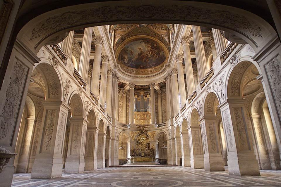 Palace of Versailles , The Royal Chapel at the Château de Versailles , France