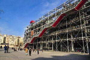 Le Centre Pompidou , Le Centre Georges Pompidou , France