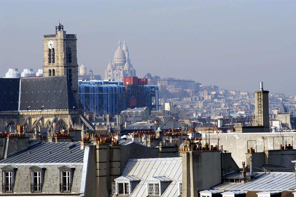 The Centre Pompidou , Modern architecture for a mythical city , France