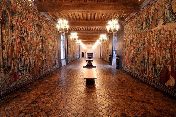 Museo nazionale del Rinascimento , L'interno del castello , Francia