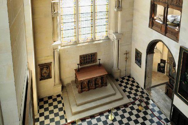 Museo nazionale del Rinascimento , L'altare di Jean Goujon , Francia