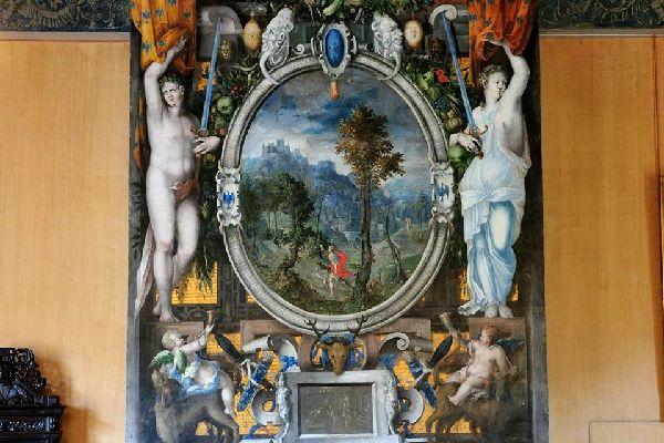 Museo nazionale del Rinascimento , I camini del museo , Francia