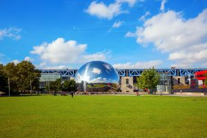 The City of Science and Industry , Cité des Sciences et de l'Industrie , France