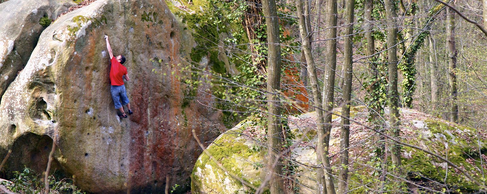 Climbing in Fontainebleau forest, Climbing in Fontainbleau Forest, Sports and activties, Ile de France