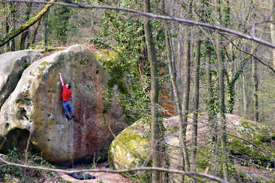 L'arrampicata nella foresta di Fontainebleau, Scalate nella Foresta di Fontainebleau, Gli sports, Parigi e Ile de France