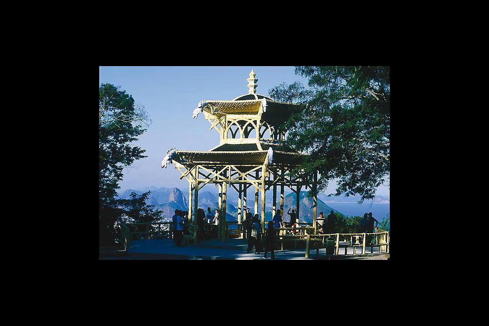 Le Jardin Botanique de Rio , Kiosque panoramique , Brésil