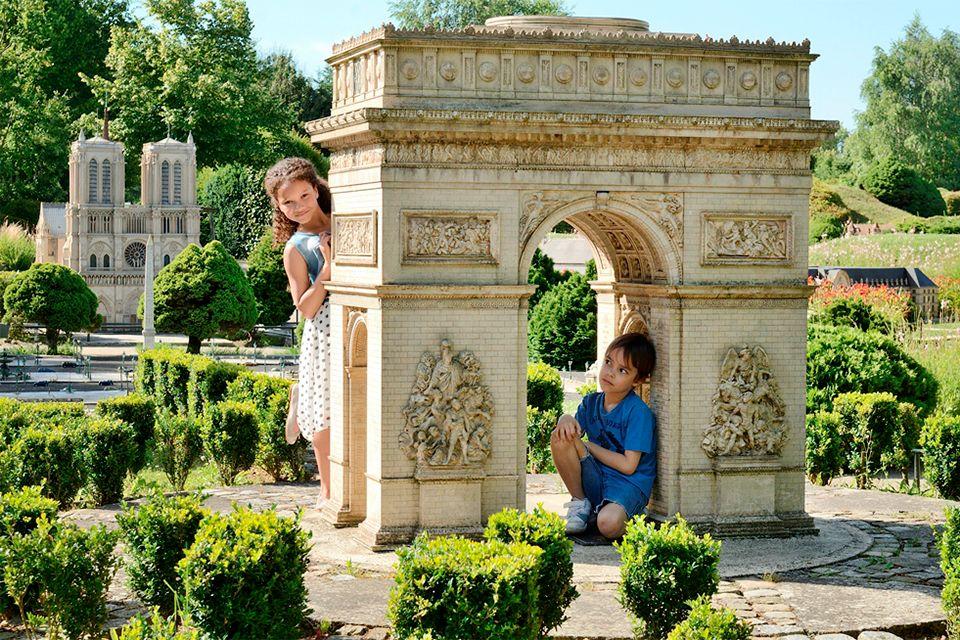 L'arena di Nîmes, France Miniature, Le attività e i divertimenti, Parigi e Ile de France