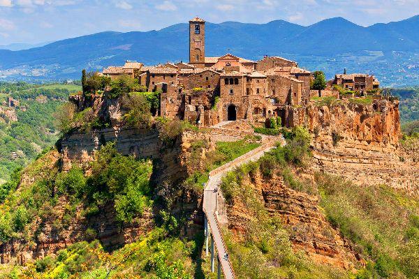 La Tuscia , Italie