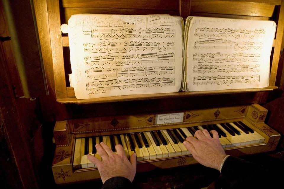 Ruta del Barroco nisso-ligure , El órgano de San Salvador , Francia