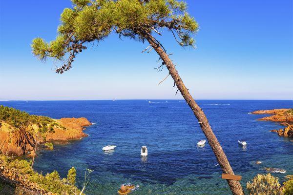 La costa Azul, Las costas, Provence-Alpes-Côte d'Azur