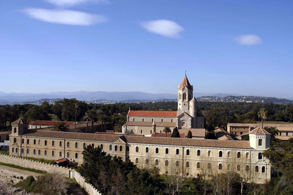 The monastery on Saint-Honorat island, The Îles d'Hyères and Lérins islands, Coasts, Provence-Alpes-Côte d'Azur