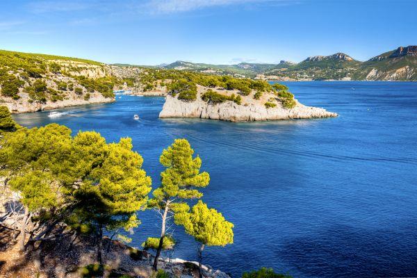 Las calas en barco, Paseo en barco por las calas, Las actividades de ocio, Provence-Alpes-Côte d'Azur