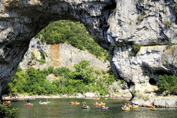 Canoa-kayak por las calas, Paseo en barco por las calas, Las actividades de ocio, Provence-Alpes-Côte d'Azur