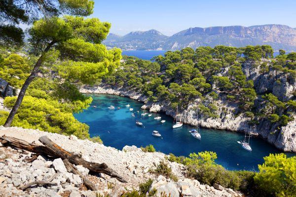 La visita a las calas, Paseo en barco por las calas, Las actividades de ocio, Provence-Alpes-Côte d'Azur