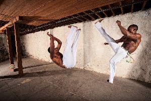 La capoeira , Brésil