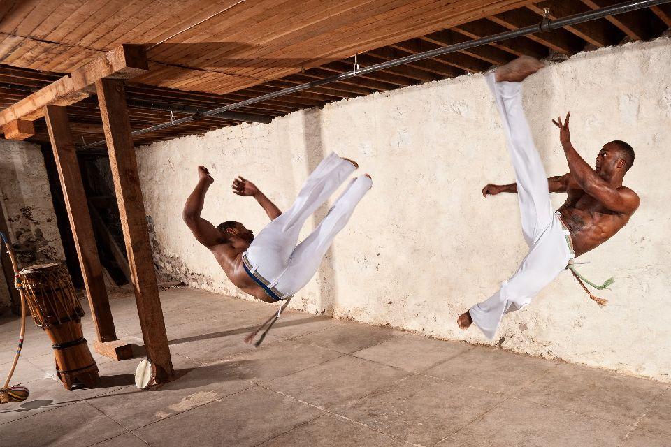 Capoeira , A form of dance, a martial art , Brazil