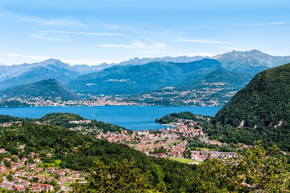 Le lac Majeur , Le Valsesia , Italie