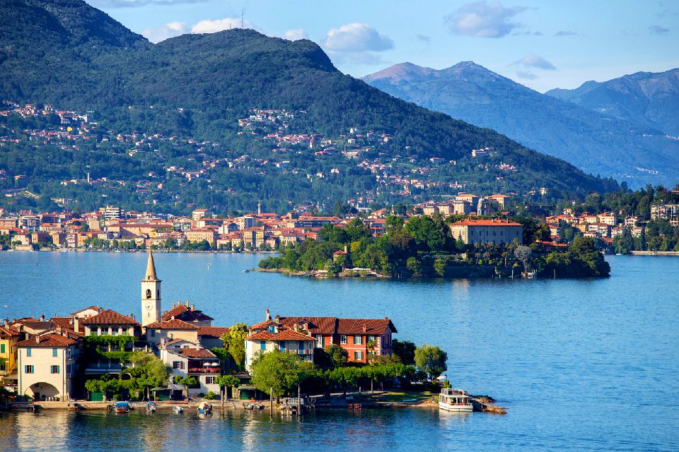 Le lac Majeur , Italie