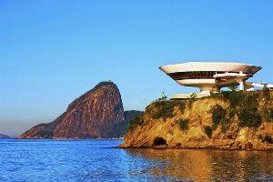 Les musées , le Musée d'Art Contemporain de Niteroi , Brésil