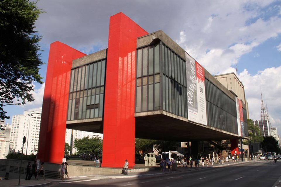 I musei , Il museo dell'Arte di San Paolo , Brasile