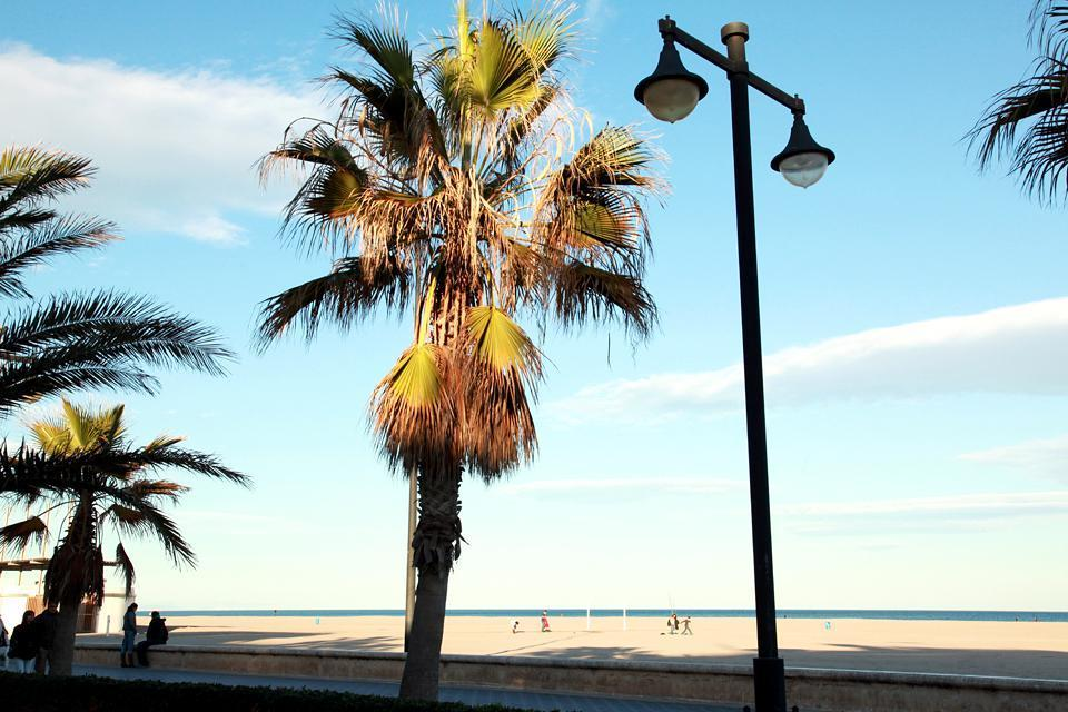 The beaches of Valencia , Spain