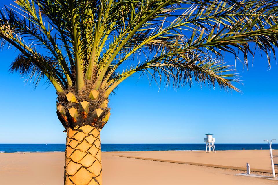 The Costa Azahar , The Azahar coast , Spain
