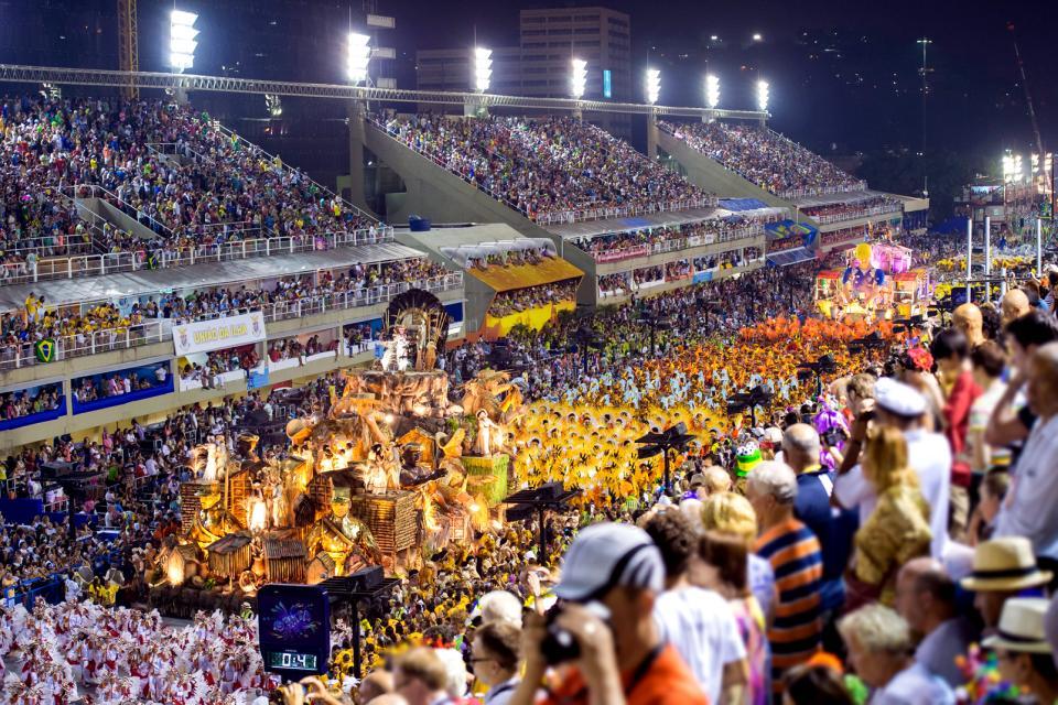 Les carnavals, de Rio à Salvador de Bahïa , Brésil