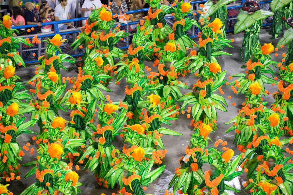 I carnevali, da Rio a Olinda , Sfilata di samba , Brasile