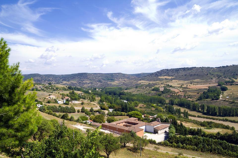 The Reatillo River and Parque del Tejo park , Spain