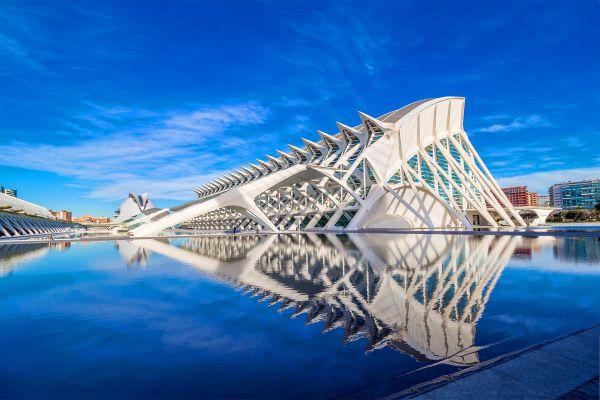 L'Umbracle, gran jardín colgante, Ciudad de las Artes y las Ciencias de Valencia, Arte y cultura, Comunidad Valenciana