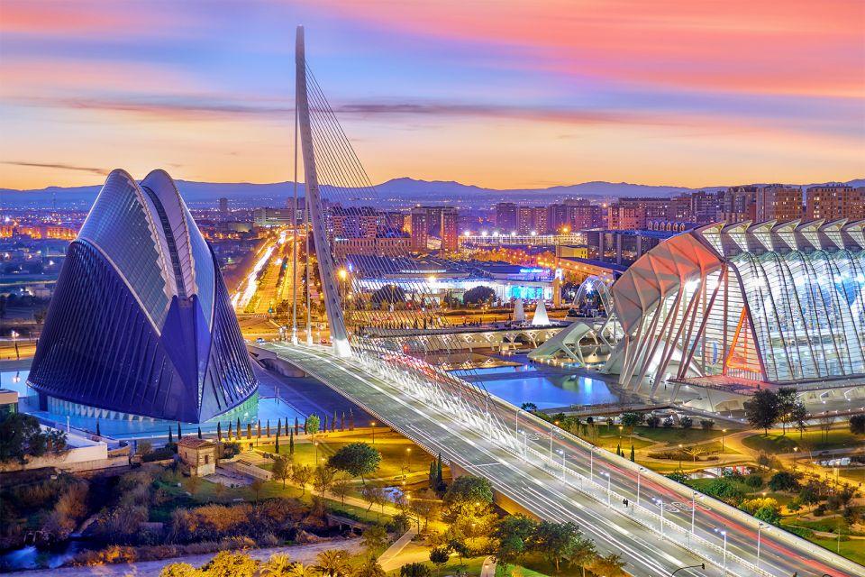 La Ciudad de las Artes y las Ciencias de Vale, Ciudad de las Artes y las Ciencias de Valencia, Arte y cultura, Comunidad Valenciana