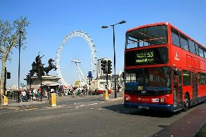 London Eye , Le London Eye, Londres, Angleterre , Royaume-Uni