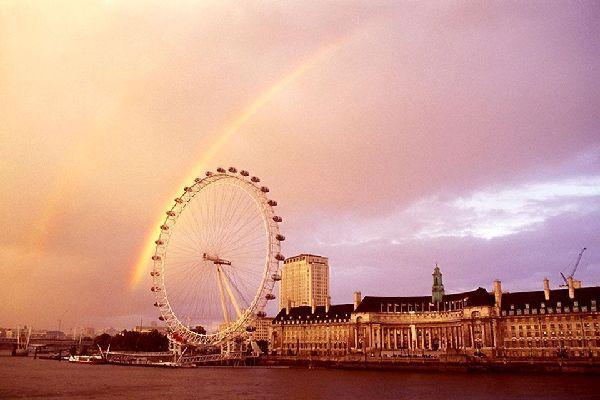 The London Eye , Modern versus old , United Kingdom