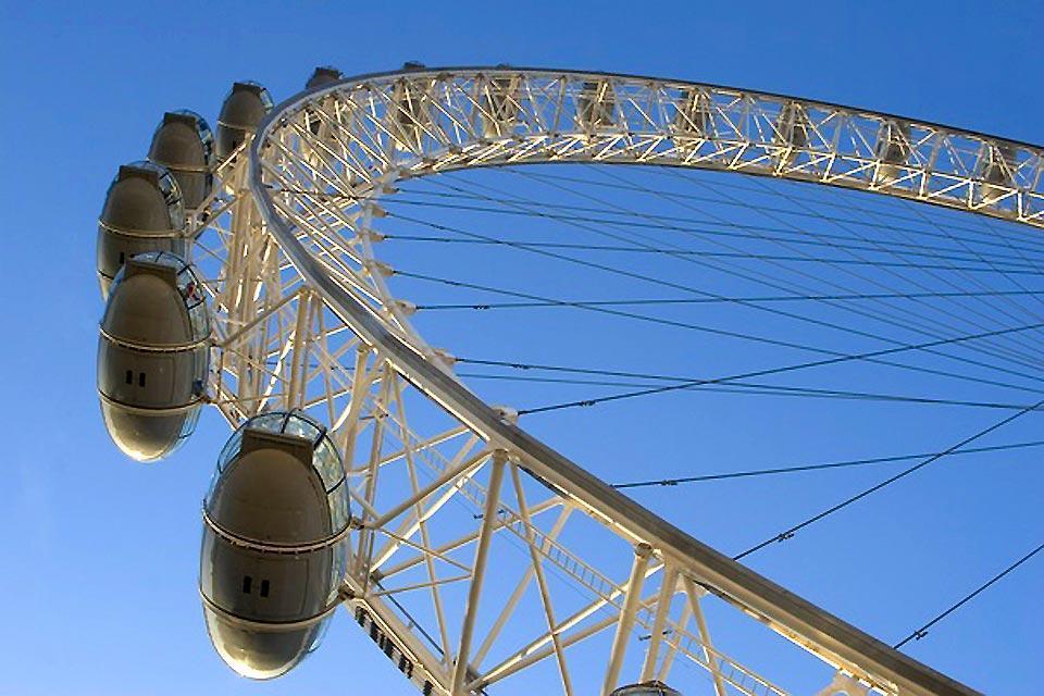 London Eye , Über dem London Eye , Großbritannien