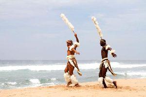 Le territoire zoulou , Le territoire des Zoulous , Afrique du Sud