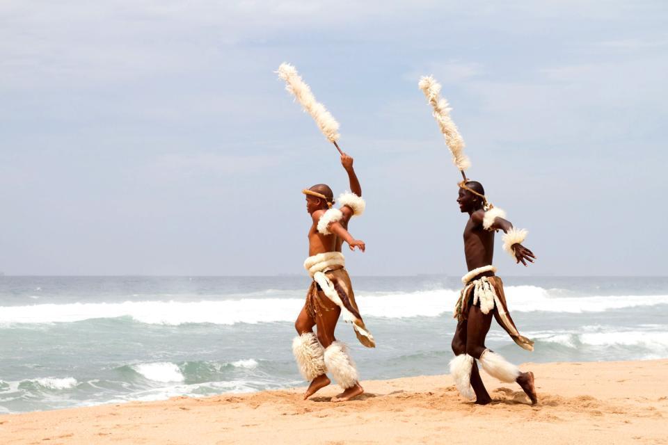 Il teritorio degli zulù , Il territorio degli Zulu , Sudafrica