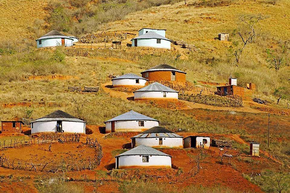 Il teritorio degli zulù , Popolazione zulù , Sudafrica