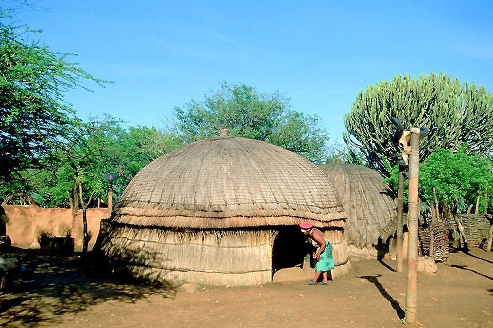 Il teritorio degli zulù , La religione zulù , Sudafrica