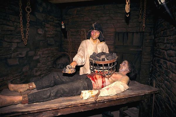 London Dungeon , Le Donjon de Londres, Londres, Angleterre , Royaume-Uni