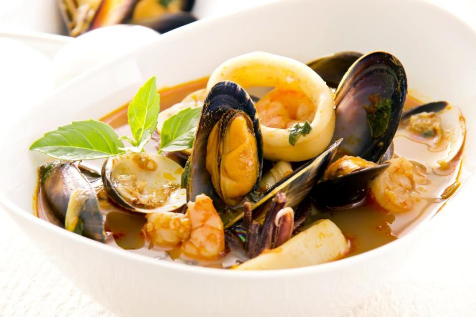 Los pescados , La sopa , Francia