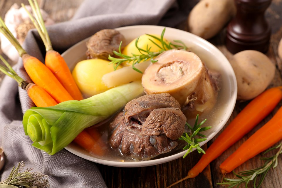 La carne y los embutidos, Las carnes y los embutidos, Gastronomía, Bretaña