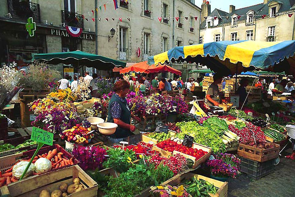 Las verduras , Las verduras tempranas , Francia
