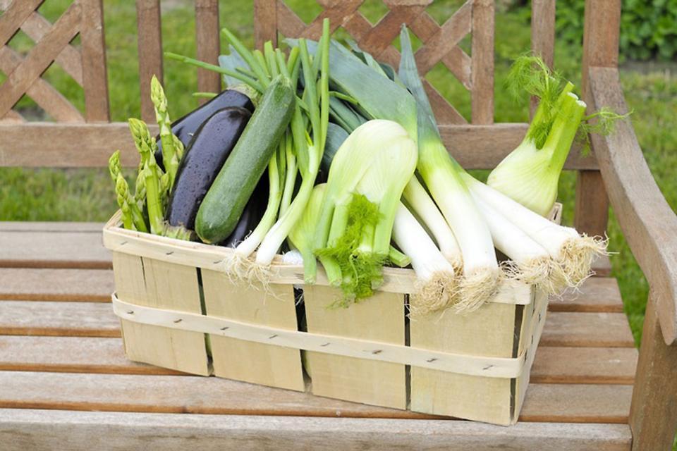 Las verduras , Francia