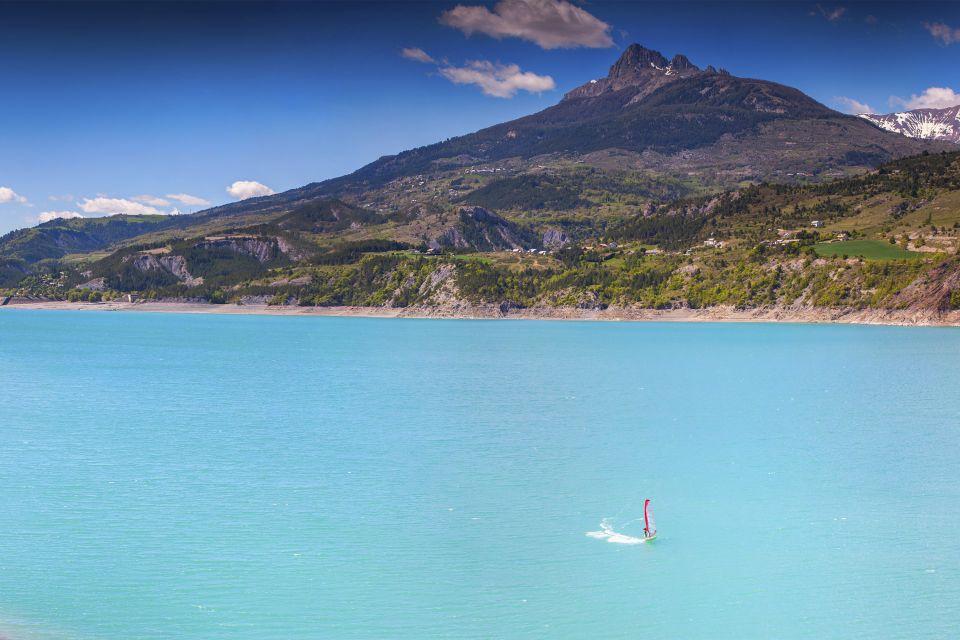 Les sports, Provence France PACA sport planche-à-voile lac serre-ponçon