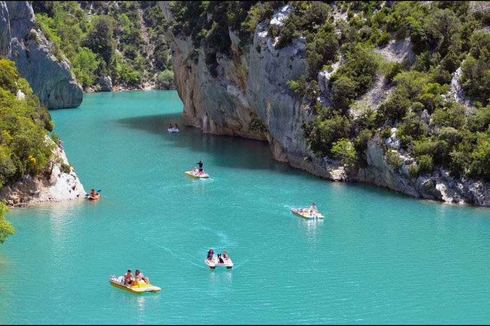 Kayak en las gargantas, Senderismo, Los deportes, Provence-Alpes-Côte d'Azur